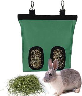 Rabbit Feeder Hay Bags, Bunny Guinea Pig Hay Feeder Bag, Hay Guinea Pig Hay Feeder, Rabbit Feeder Fabric Bag, Chinchilla F...