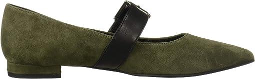 Dark Green Suede