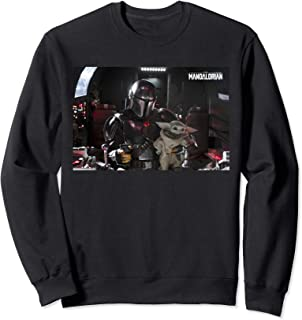 Star Wars The Mandalorian and The Child Pilot and Co-Pilot Sweatshirt