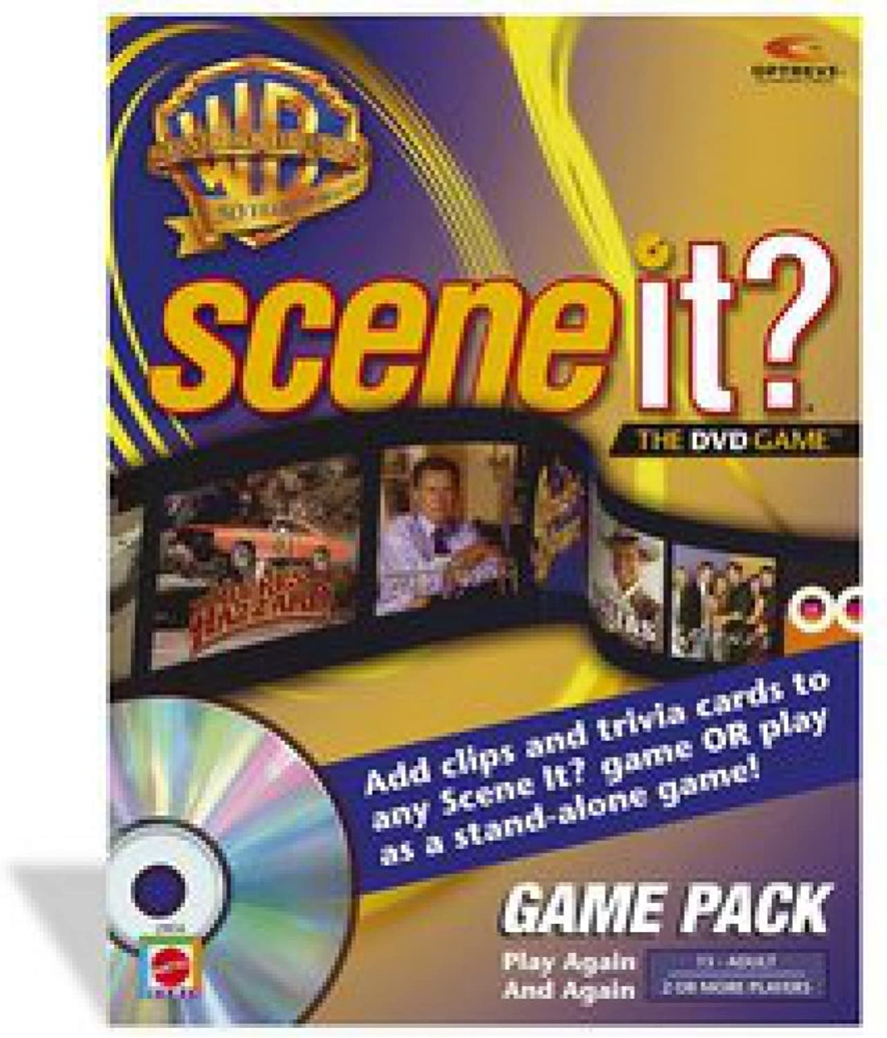 Scene It. Warner Bredhers 50th Anniversary Game Pack