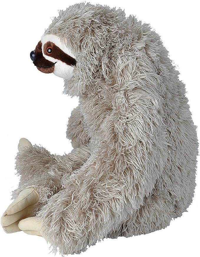 Plush Stuffed Animal Fabric Animal Sloth Braun Mammal 31 CM