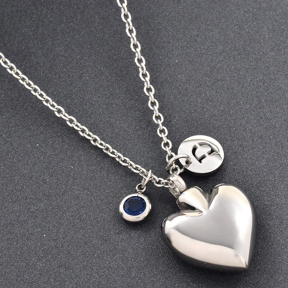 TYBM Keepsake Pendant Super beauty product restock quality top Cremation Letter Necklace with Jar Surprise price