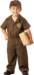 Ups Guy Costume - Toddler Costume - Toddler (3T-4T)