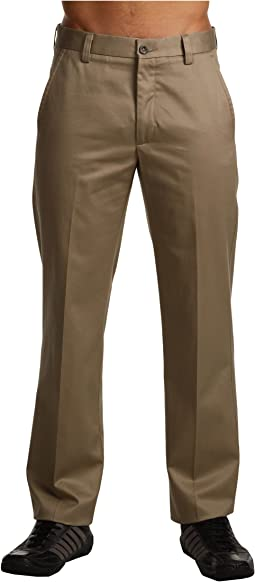 Signature Khaki D1 Slim Fit Flat Front