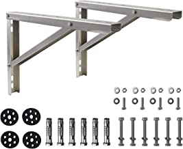 Wall Mounting Bracket for 9000-36000 Btu Condenser Ductless Mini Split Air Conditioner Heat Pump Systems, Rust Free Aluminium Alloy Support Brackets