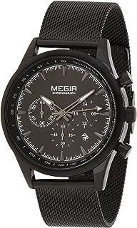 ساعة يد جينتس من ميجر، MS2153G-BK-15A