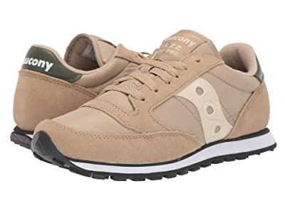 Saucony Originals Jazz Low Pro (Khaki/Green) Women