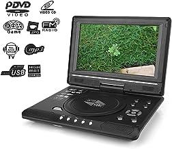 Reproductor de DVD portátil, reproductor de DVD para TV con