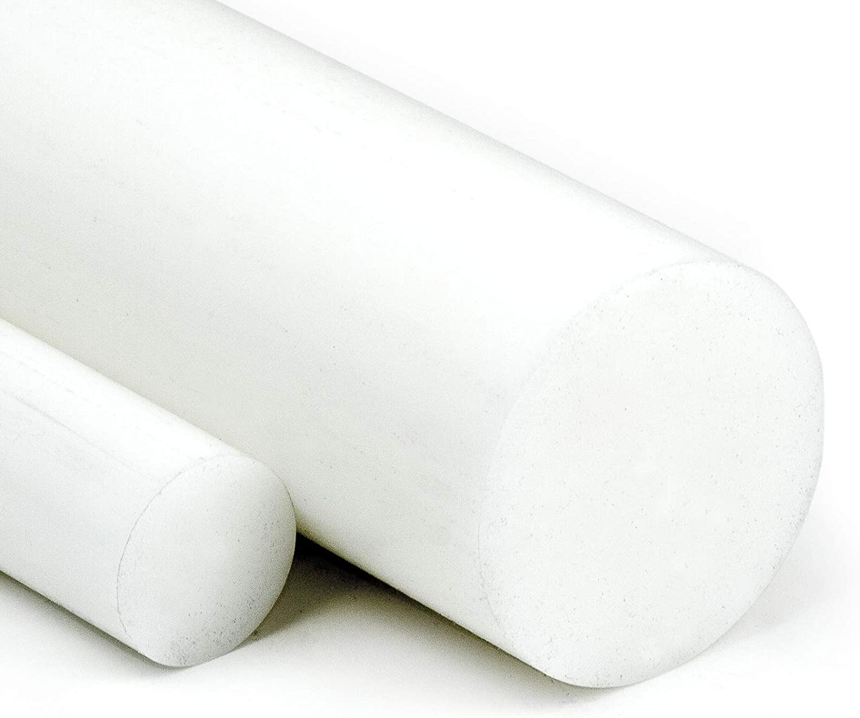 L: 1200mm PVC Rundstab grau /Ø 25mm 120cm PVC-U Kunststoffstab auf Zuschnitt