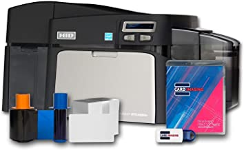 Fargo DTC4250e Dual-side ID Card Printer & Supplies Package