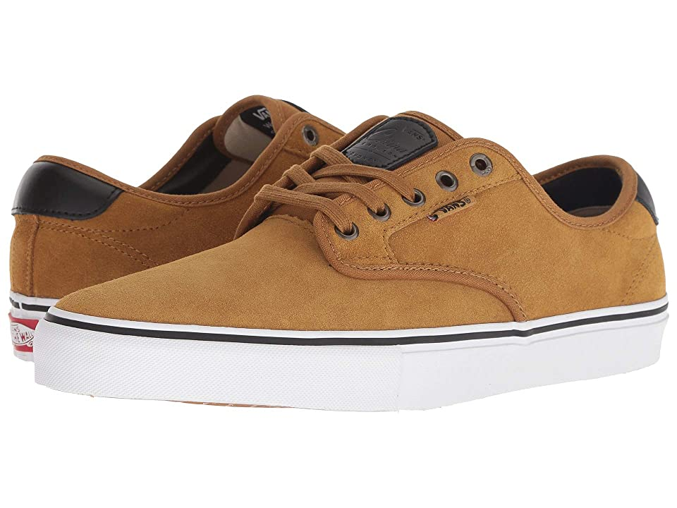 Vans Chima Ferguson Pro (Cumin/Black) Skate Shoes, Yellow