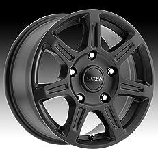 Ultra 450SB Toil Van 16x6.5 5x160 +45mm Satin Black Wheel Rim