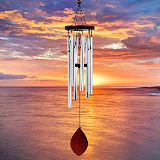 """ASTARIN Memorial Wind Chimes Outdoor, 28"""" Amazing Grace Wind Chimes with Relaxing, Rich Sound, Sympathy Wind Chimes with 6..."""