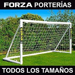 FORZA Porterías de Fútbol PVC para Jardín/Entrenamientos