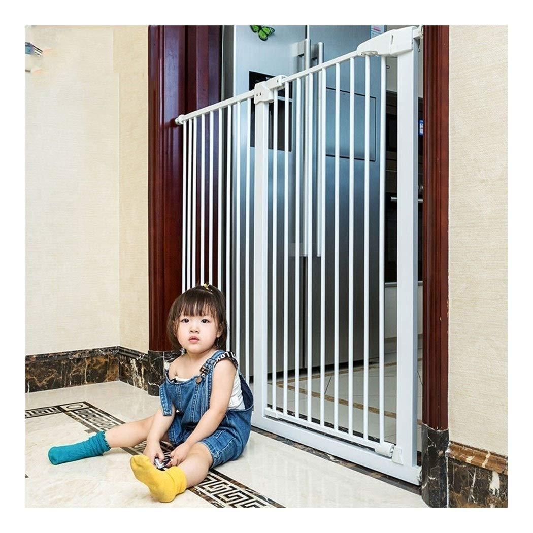Huo Escalera Puerta Interior Barrera de Seguridad for Mascotas Bebé Cocina Gratuito de Perforación Barandilla Inicio de Presión Montado (Size : Width 222-230cm): Amazon.es: Hogar