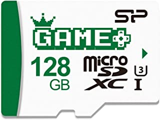 Silicon Power 128GB SDXC Micro SD Card Nintendo-Switch Memory Card with Adapter, Write Speed 80MB/s