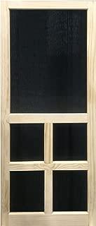 Solid Stainable Screen Door Victoria 30 in. x 80 in.