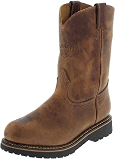 SOUL REBEL American Boots - Work Boots BO-4381-638-EEE (Strong Foot) - Men - Brown