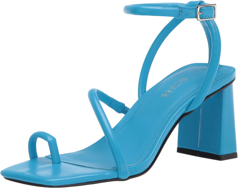 GUESS Women's Aubrea Financial sales sale Jacksonville Mall Sandal Heeled