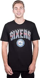 Ultra Game NBA Men's Arched Plexi Short Sleeve Tee Shirt