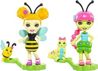 Enchantimals 2-Pack Cay Caterpillar & Beetrice Bee Micro Dolls