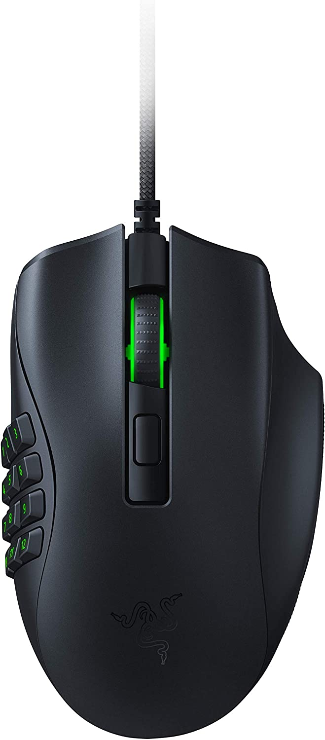 Razer Naga X Wired MMO Gaming Mouse: Our shop most popular 55% OFF 18K Optical 2n - DPI Sensor