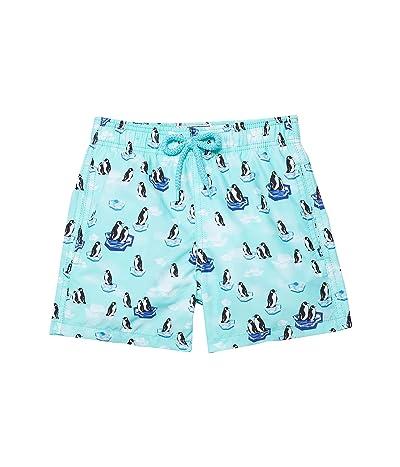 Vilebrequin Kids Penguins On the Rocks Jim Swim Trunks (Toddler/Little Kids/Big Kids)