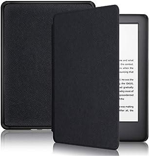 Capa Kindle 10ª Geração com Iluminação Embutida, Função Liga/Desliga, Fechamento Magnético, Preta