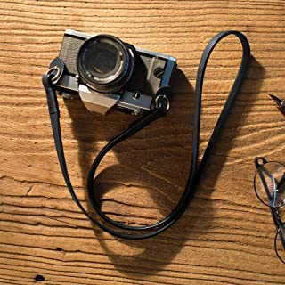 Camera Strap Leather Vintage DSLR Camera Neck Straps Belt Handmade Genuine Leather Film Camera Shoulder Strap Cord Long fo...