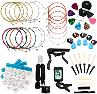 LOMEVE Guitar Accessories Kit Include Acoustic Guitar...