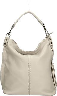 Aren - Shoulder Bag Borsa a Spalla da Donna in Vera Pelle Made in Italy - 33x29x14 Cm