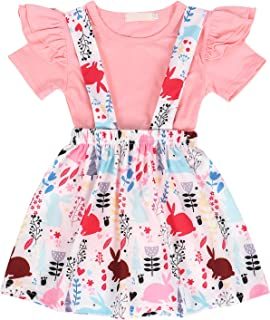 Eledobby Baby Girl Clothes Newborn Toddler Kids Solid Long Sleeve Ruffles Tops+Pants+Head rope Outfits Set