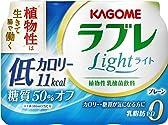 [冷蔵] カゴメ 植物性乳酸菌ラブレLight 80ml 3本