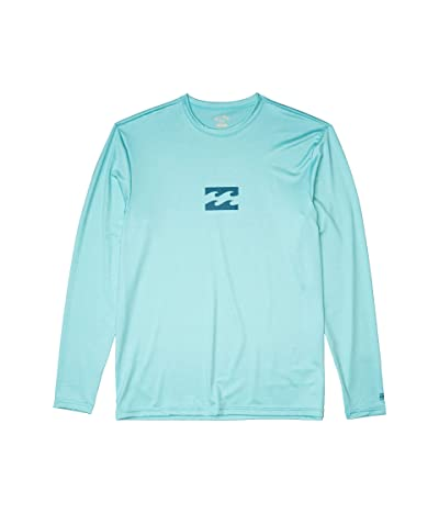 Billabong All Day Wave Loose Fit L/S Surf Tee (Spearmint Heather) Men