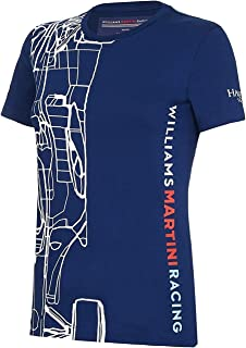 Williams Martini F1 Mercedes Outline Ladies T-Shirt