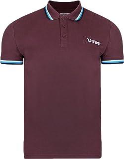 Lambretta Men`s Classic Short Sleeve Casual Polo Neck Tee T-Shirt