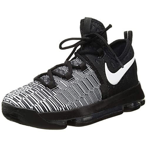 Nike Zoom KD 9 (GS) White Black (Oreo) (5Y) a5c582713