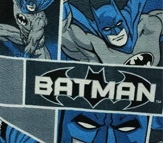 Fleece Fabric Printed Anti Pill DC Comics Batman Classic Licensed