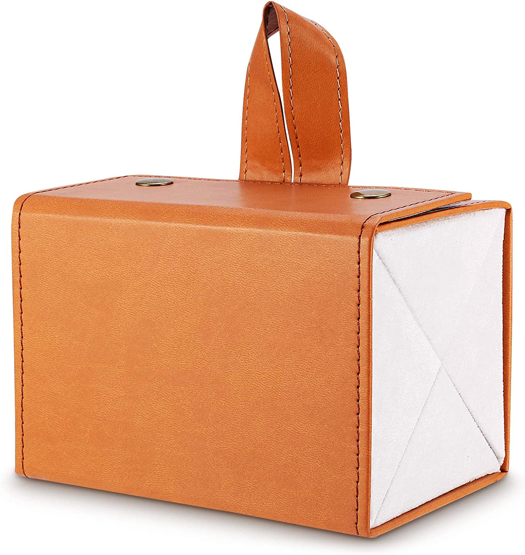 Limited time sale 4 Slot Travel Foldable Organizer-Multiple Inexpensive Leather PU Sunglasses