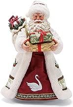 Department 56 Possible Dreams Santas Seven Swans a Swimming Figurine, 10.5