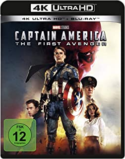 Captain America - The First Avenger  (4K Ultra HD) (+ Blu-ray 2D) [Alemania] [Blu-ray]