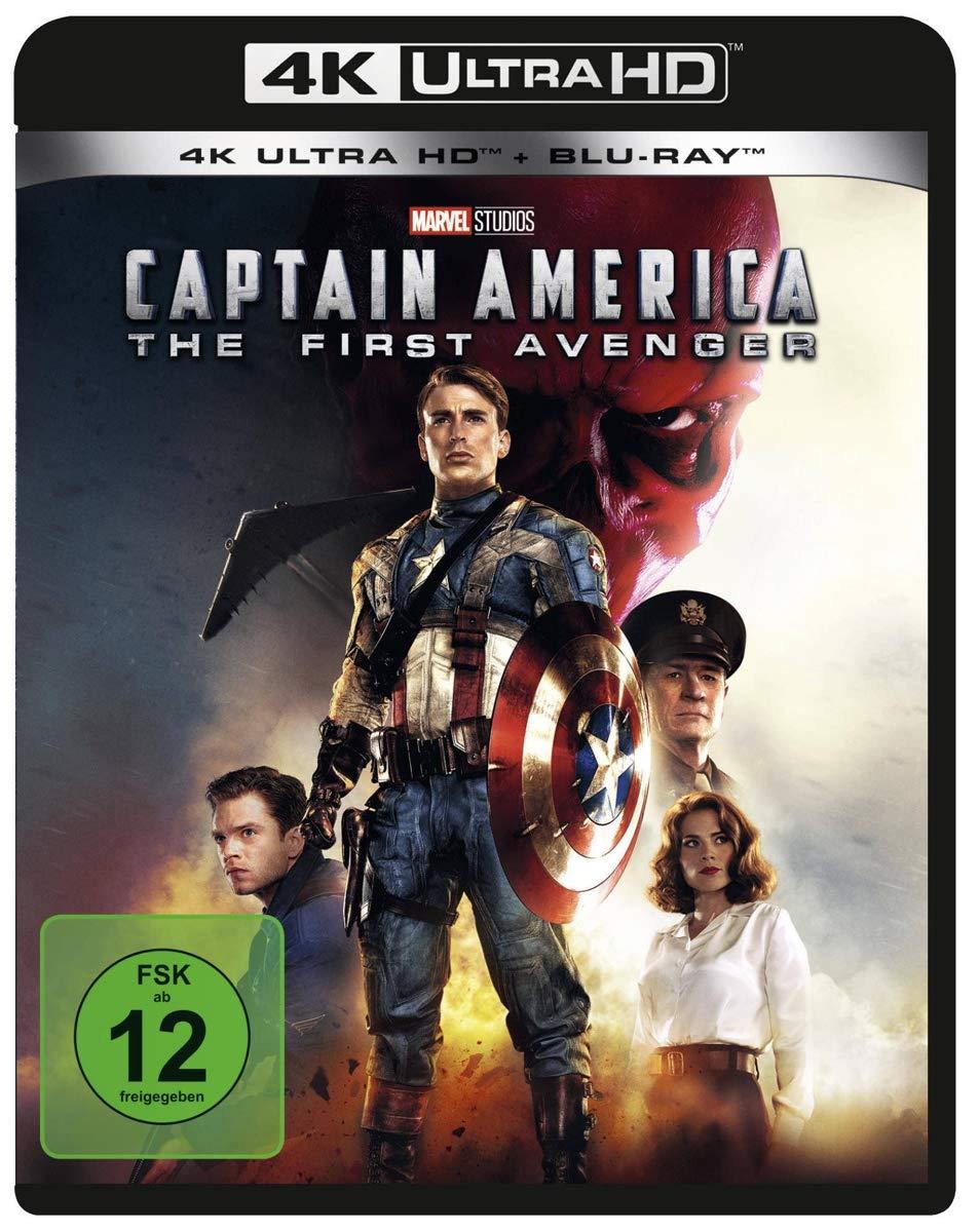 Captain America   The First Avenger 200K Ultra HD + Blu ray 20D ...