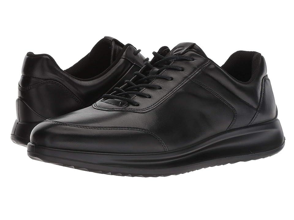 ECCO Aquet Sneaker (Black) Men