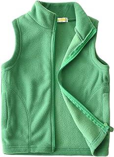 Dalary Baby Boys&Girls Polar Fleece Sleeveless Jacket Outerwear Vests