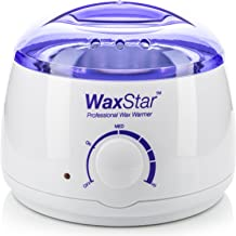 WaxStar™ Professional Electric Wax Warmer and Heater for Soft, Paraffin, Warm, Crème and Strip Wax | Wax Melter for Hair Removal with Adjustable Temperature for Salon Quality Results