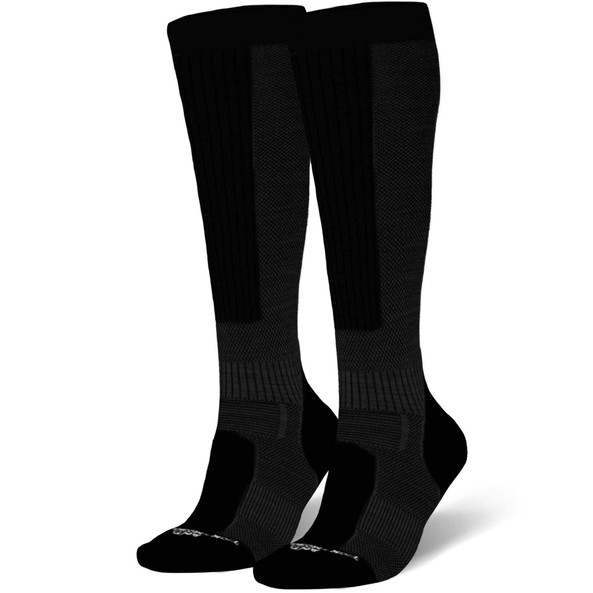 Pure Athlete Copper Compression Ski Socks Men Warm Merino Wool Women OTC
