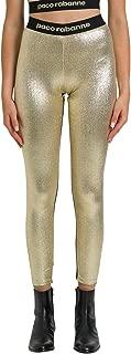 PACO RABANNE Luxury Fashion Womens 19AJPA001VI0004M042 Silver Leggings | Fall Winter 19
