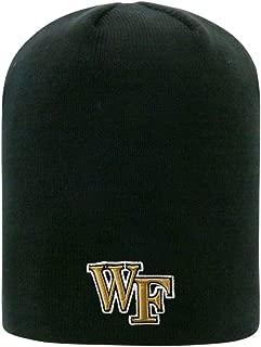 Cuffless 2-Sided Beanie Hat - NCAA EZ DOZIT Knit Skull Cap