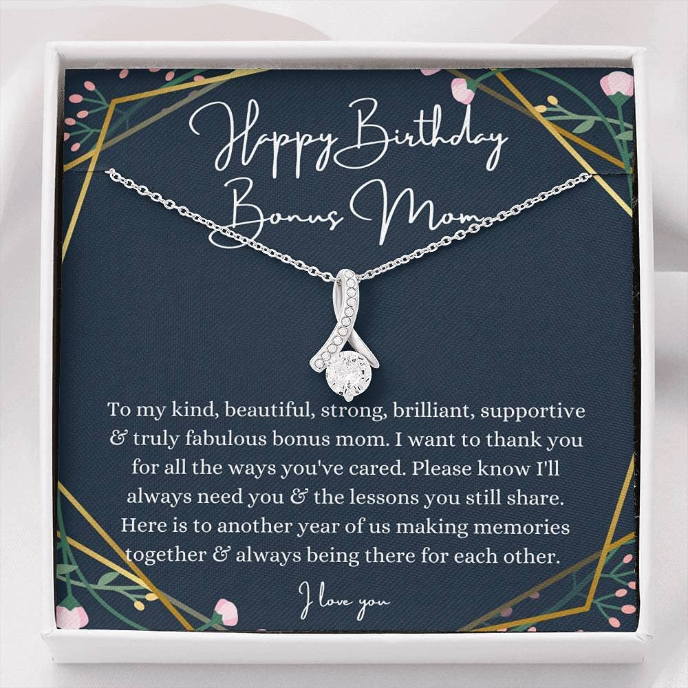 Petit Ribbon Stepmom Directly managed store Birthday Gift S Max 66% OFF From stepdaughter stepson