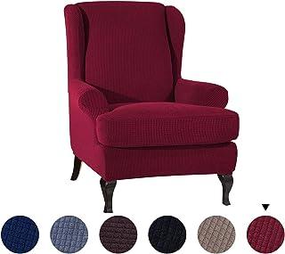 comprar comparacion PETCUTE Fundas de sillón con Orejas Fundas de Silla elástica con Cojin Separado Protector de Muebles Jacquard